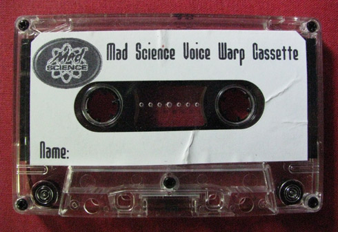Mad Science Voice Warp cassette