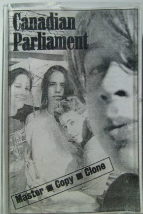 Canadian Parliament cassette cover