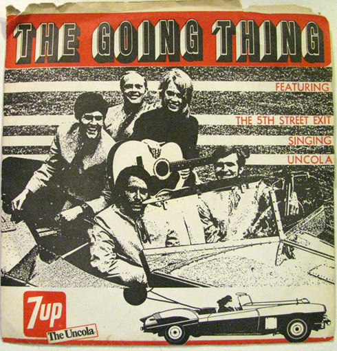 5th Street Exit 7-inch EP - The Going Thing b/w Uncola