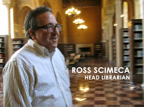 Ross Scimeca, Hoose Library head librarian