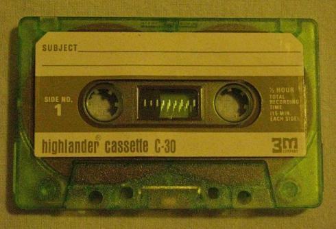 Highlander Cassette C-30