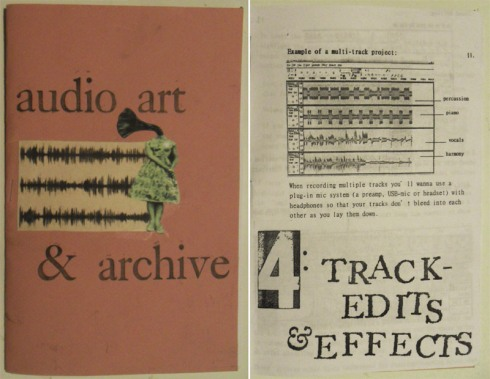 audio art + archive zine