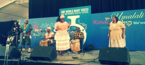 garifuna group at folklife fest