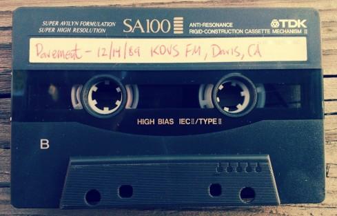 pavement kdvs cassette tape