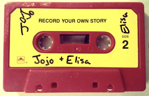 record your own story cassette tape