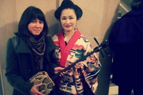 elisa with shinobu matsuda