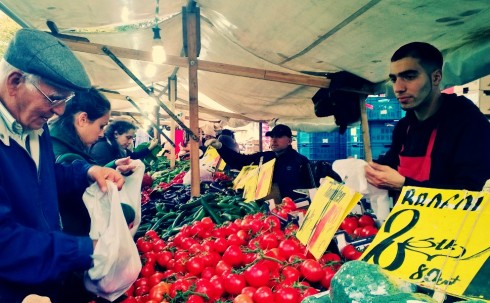 Türkenmarkt vendor