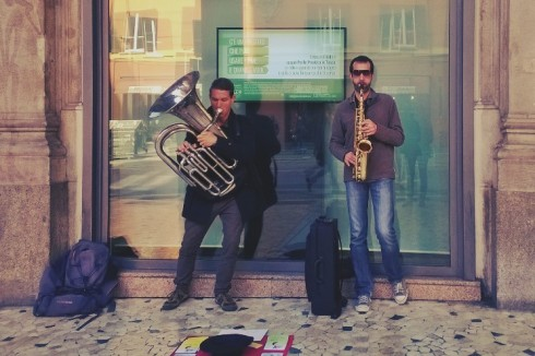 Bologna brass duo