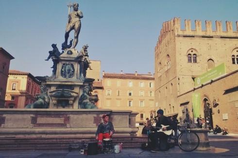 Bologna busker band